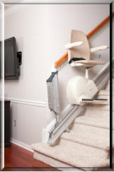 CARE:  Meditek D160f Folding Rail Stairlift