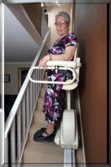 CARE:  Meditek D160 Perch Stairlift