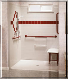 CARE:  Best Bath Barrier Free Shower Systems
