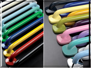 CARE:  Ponte Giulio Antimicrobial Gel Coated Grab Bars