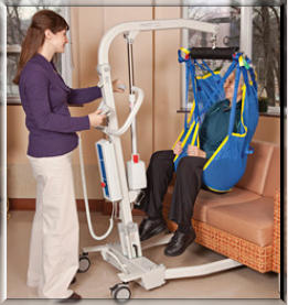CARE:  Prism Medical Portable Hoyer Lifts
